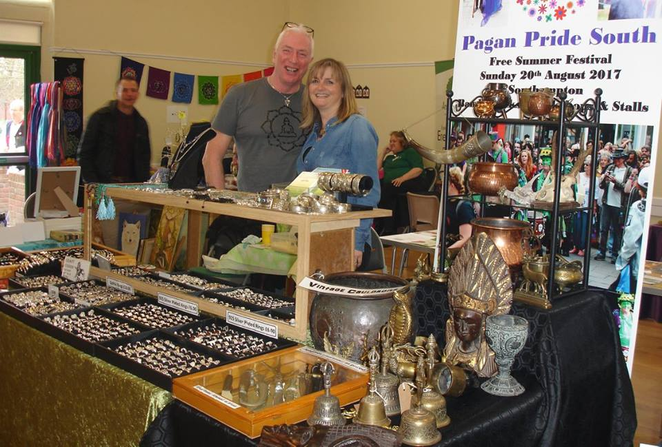 Curios trading - vintage ritual items, clothing and jewellery